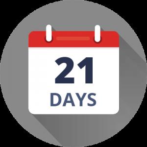 ترک عادت در 21 روز