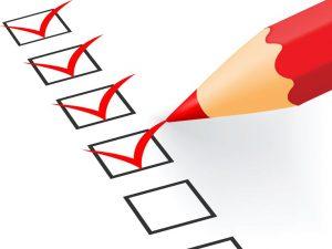 لیست عادات خوب