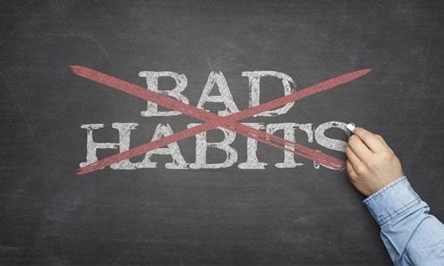 عادت های بد ذهن